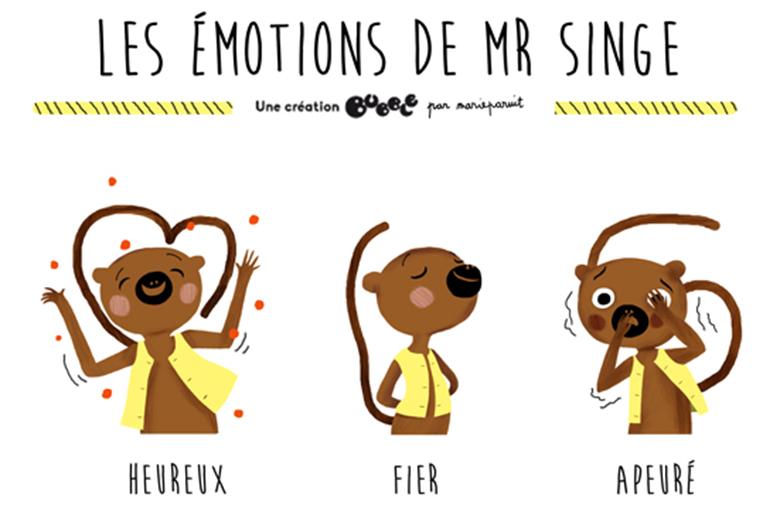 les emotions des enfants