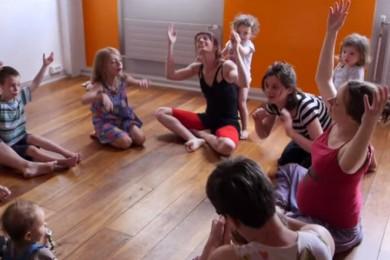 Danser avec ses enfants