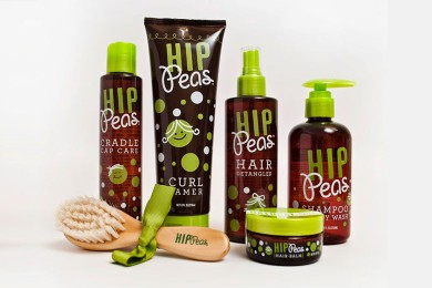 HIP PEAS : soins pour les cheveux