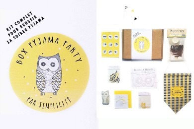 SIMPLICITY FOR KIDS : box « Pyjama Party »