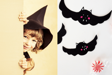 Bonbons customisés pour Halloween