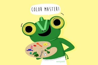 Jouer en couleur