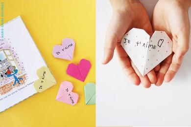 Marque-pages amoureux pour la Saint-Valentin