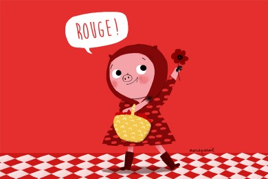 1,2,3… rouge !