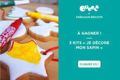 FABULOUS BISCUITS : kit à colorier