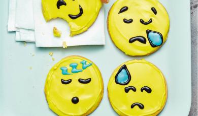 Sablés des émotions