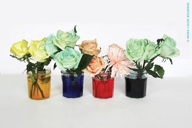 Fleurs à teinter pour apprenti sorcier