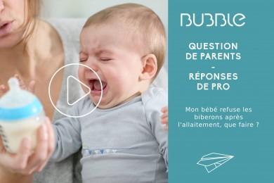 Mon bébé refuse les biberons après l'allaitement, que faire ?